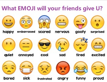 Emoji Game What EMOJI will your friends give you