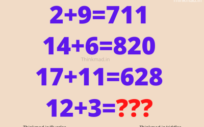 if 2+9=711 then find 12+3=??? number Puzzle with answer