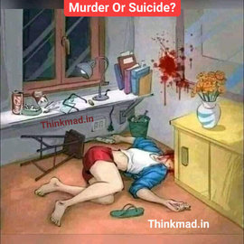 Guess it is a murder or suicide? puzzle