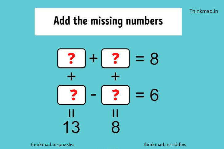 find the missing number in the box tricks